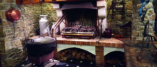 Огонь в доме