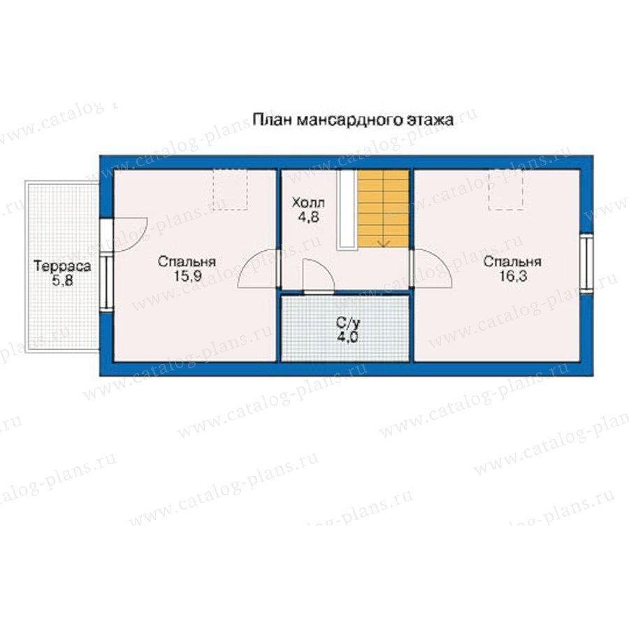 План 3-этажа проекта 10-19