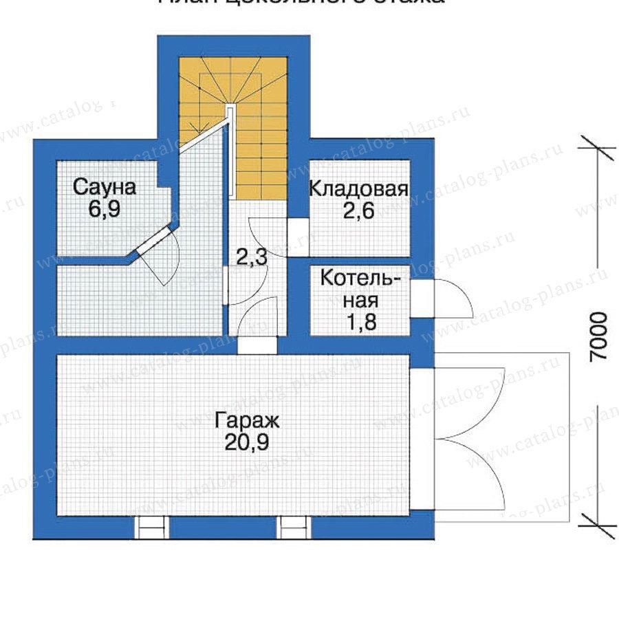 План 1-этажа проекта 10-40