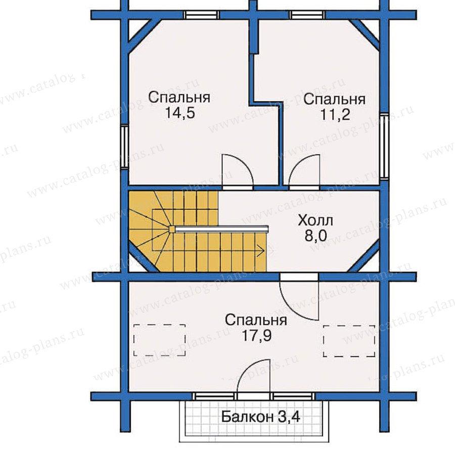План 3-этажа проекта 10-38