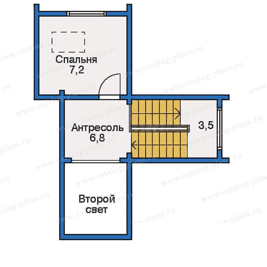 План 4-этажа проекта 10-34