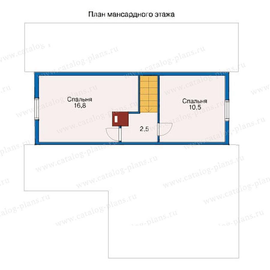 План 2-этажа проекта 10-66
