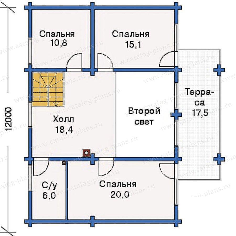 План 3-этажа проекта 10-98