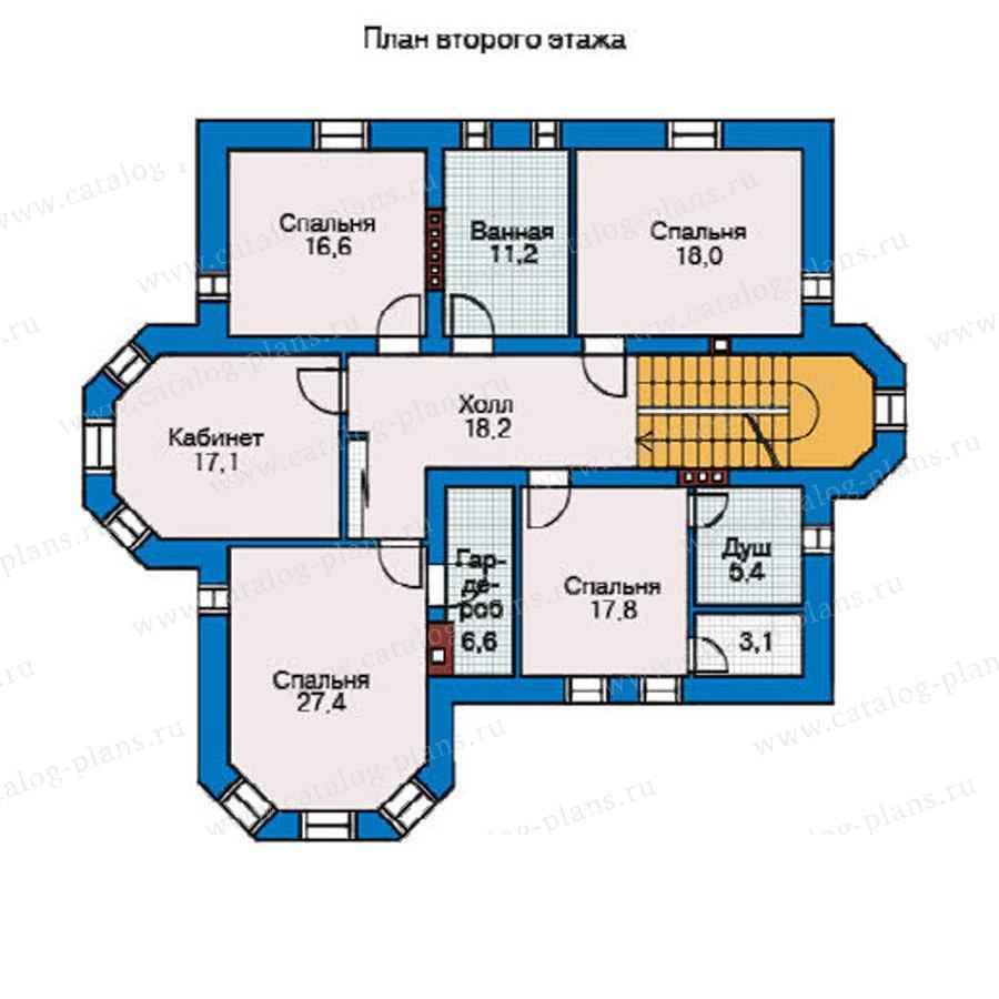 План 2-этажа проекта 31-78