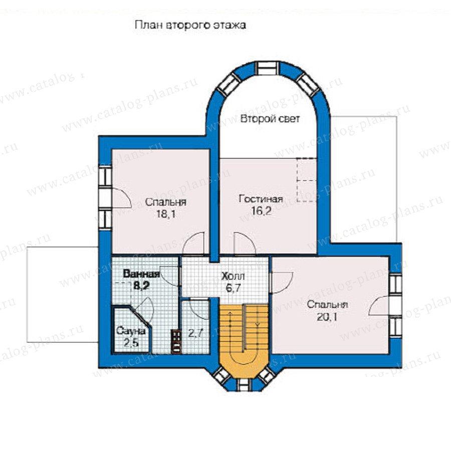 План 2-этажа проекта 49-10