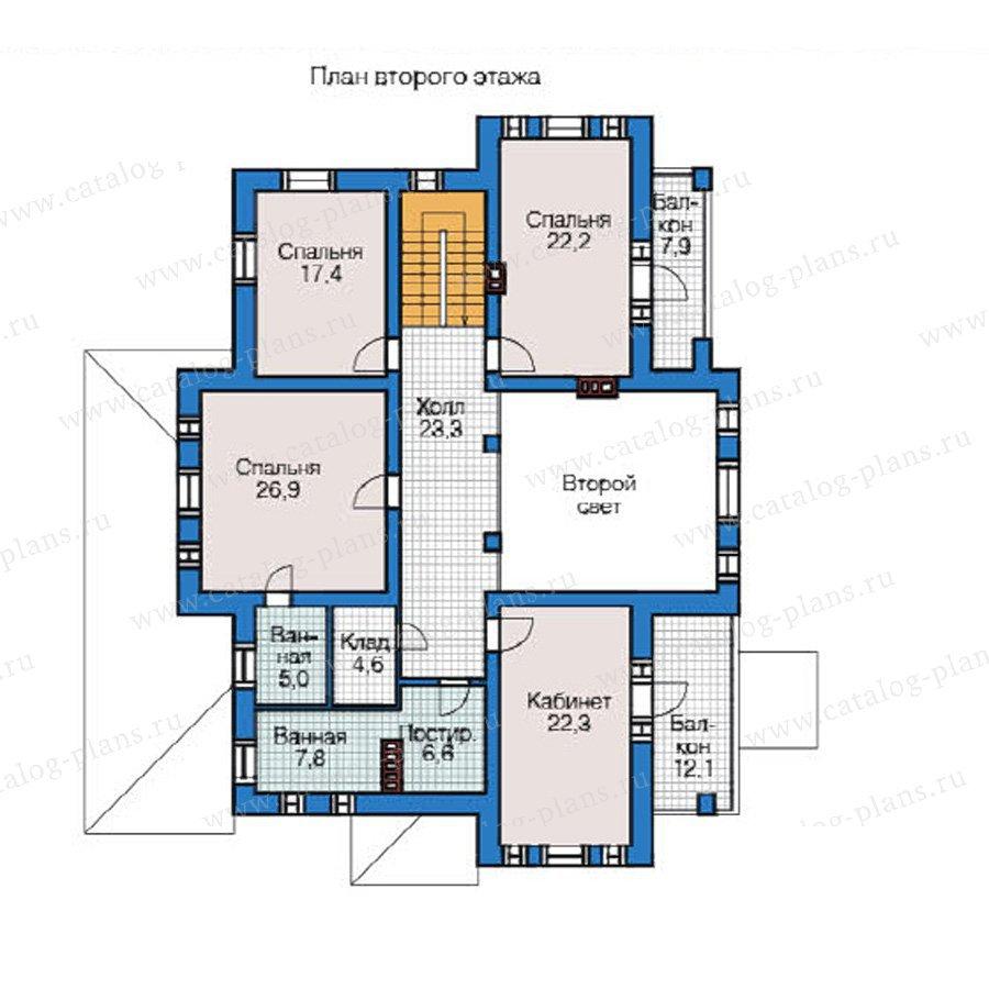 План 2-этажа проекта 49-03