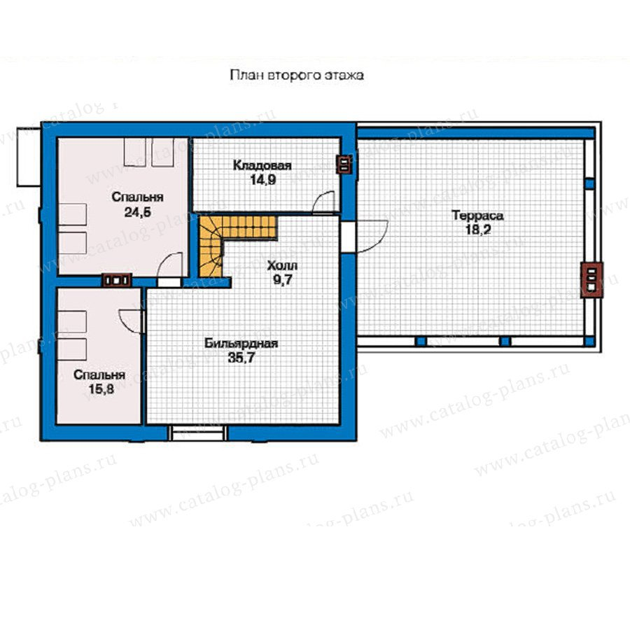 План 2-этажа проекта 49-04