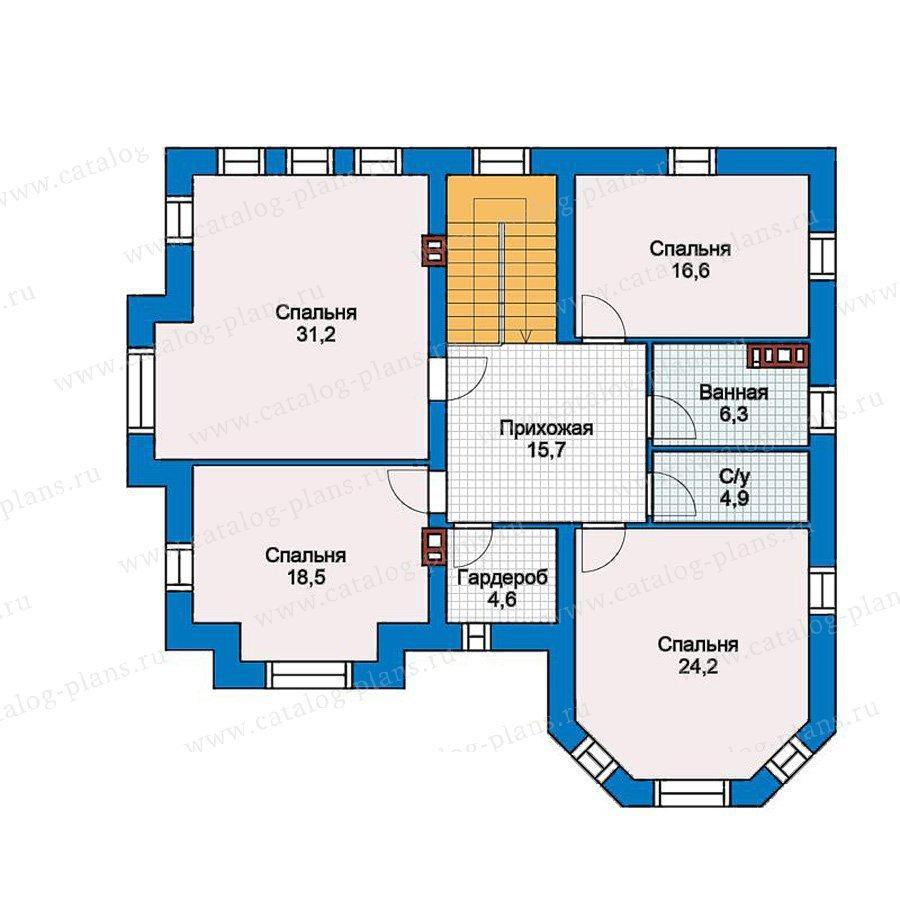 План 2-этажа проекта 40-11G