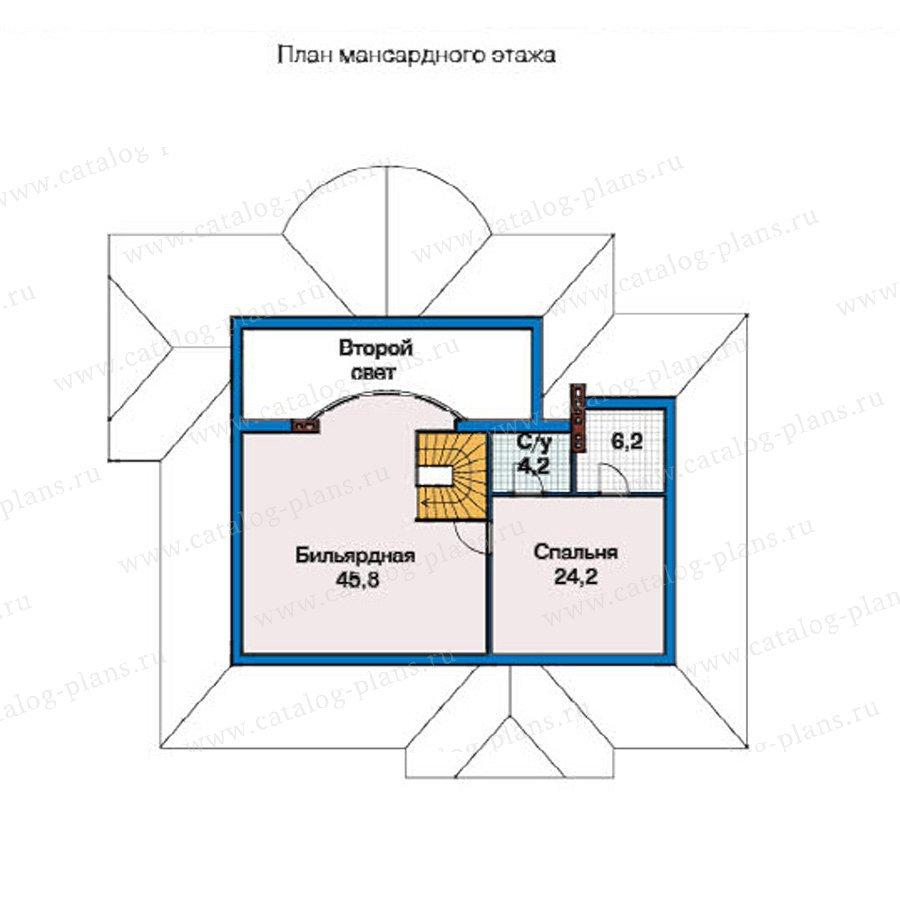 План 2-этажа проекта 49-29