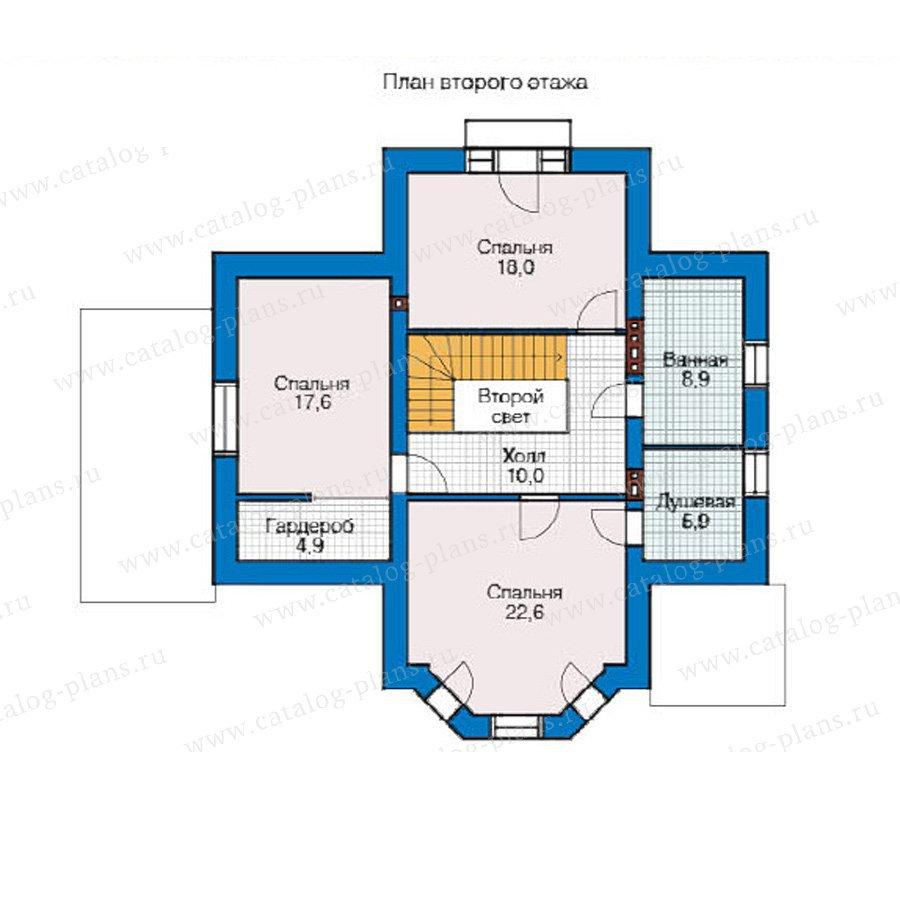 План 2-этажа проекта 49-14