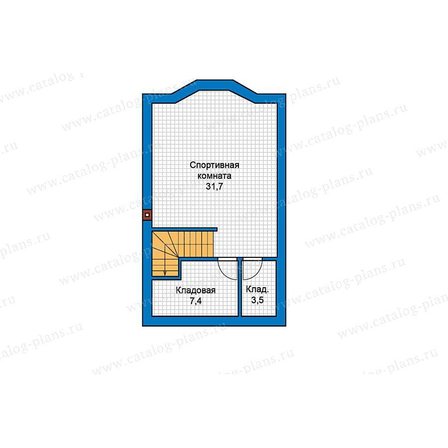 План 1-этажа проекта 49-73