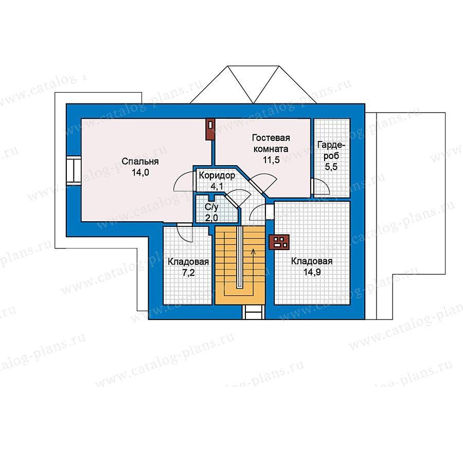 План 3-этажа проекта 49-65