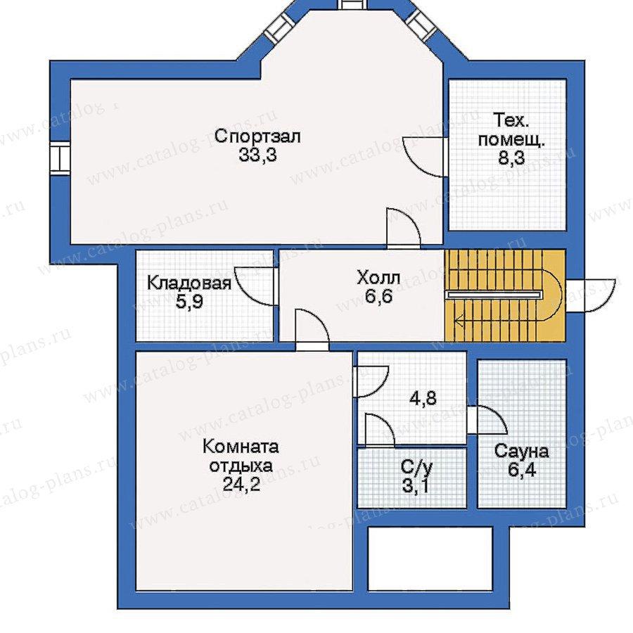 План 1-этажа проекта 50-05