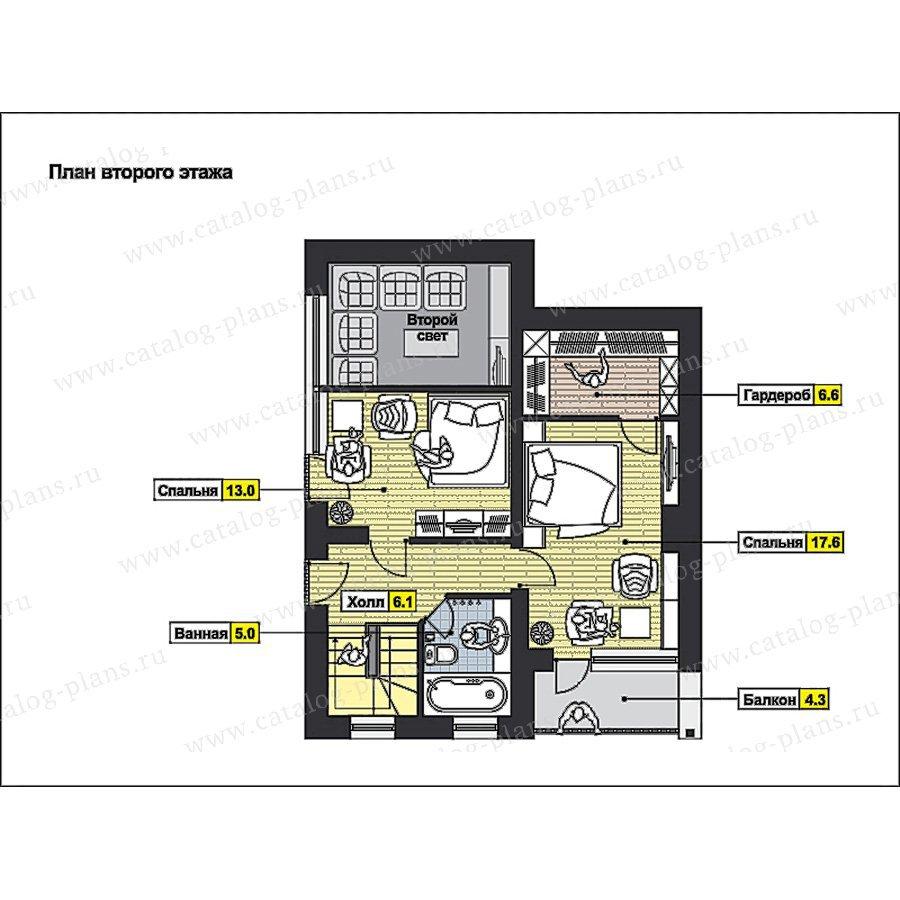 План 2-этажа проекта 49-97
