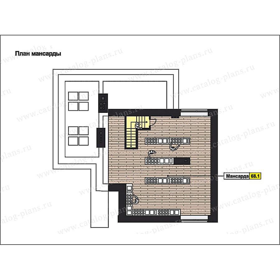 План 4-этажа проекта 49-88