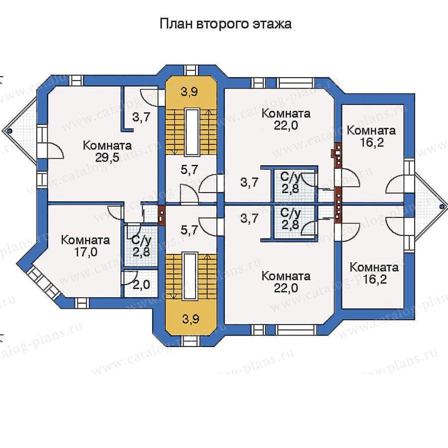 План 2-этажа проекта 50-16