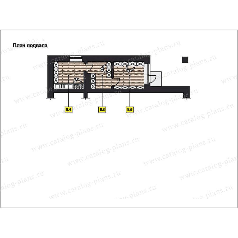 План 1-этажа проекта 49-88