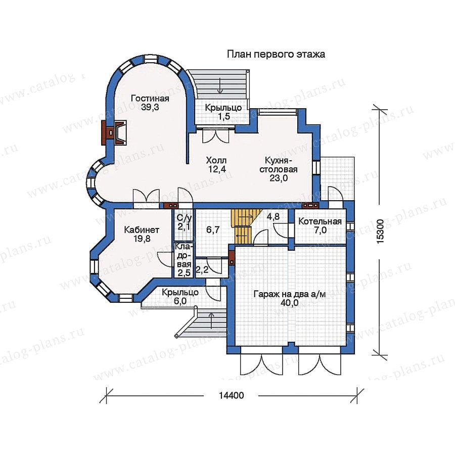 План 1-этажа проекта 50-99