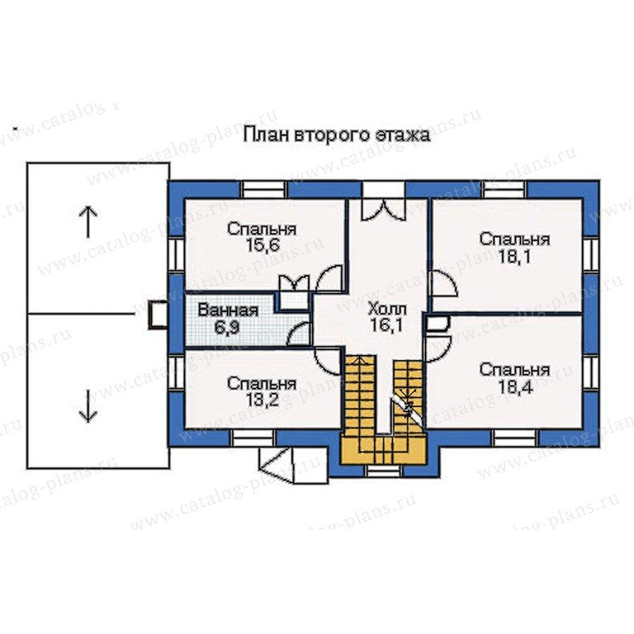 План 2-этажа проекта 51-19