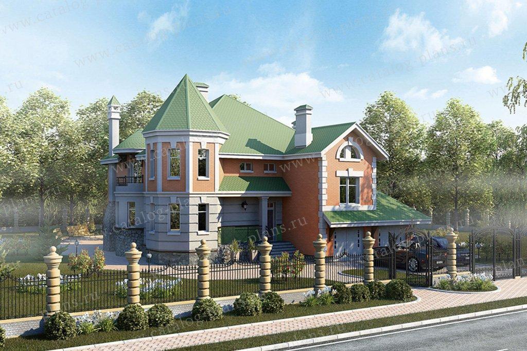 Проект жилой дом #50-99 материал - газобетон, стиль классический
