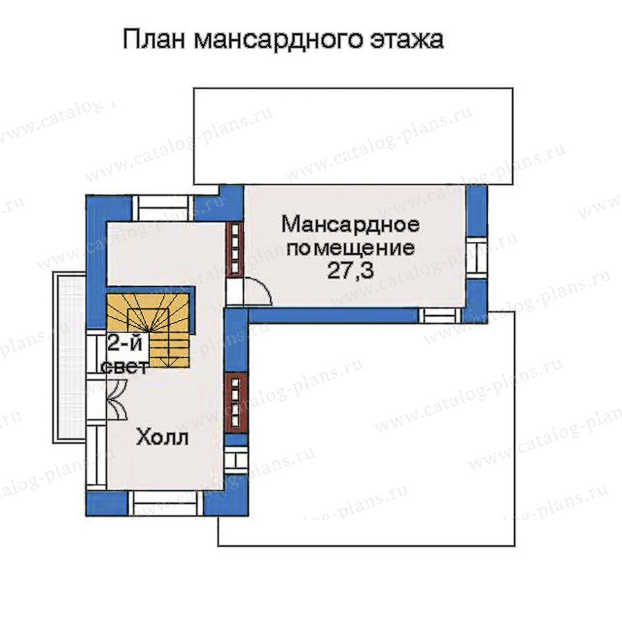 План 4-этажа проекта 51-06