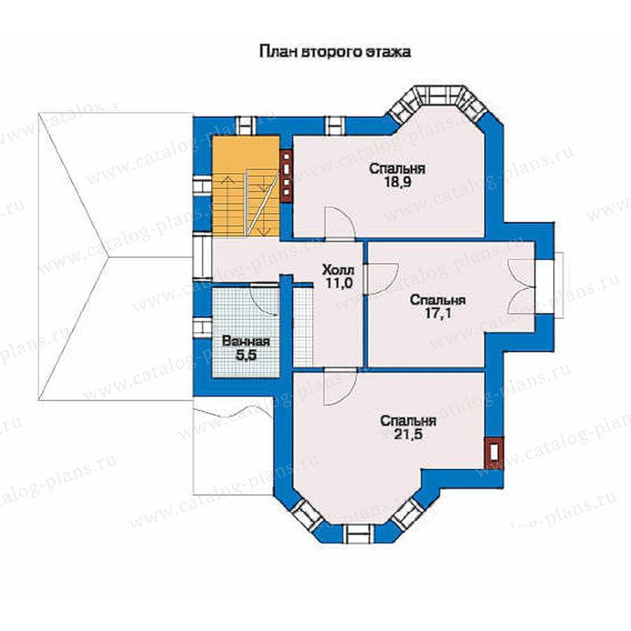 План 2-этажа проекта 51-26