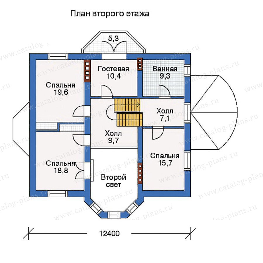 План 3-этажа проекта 50-69