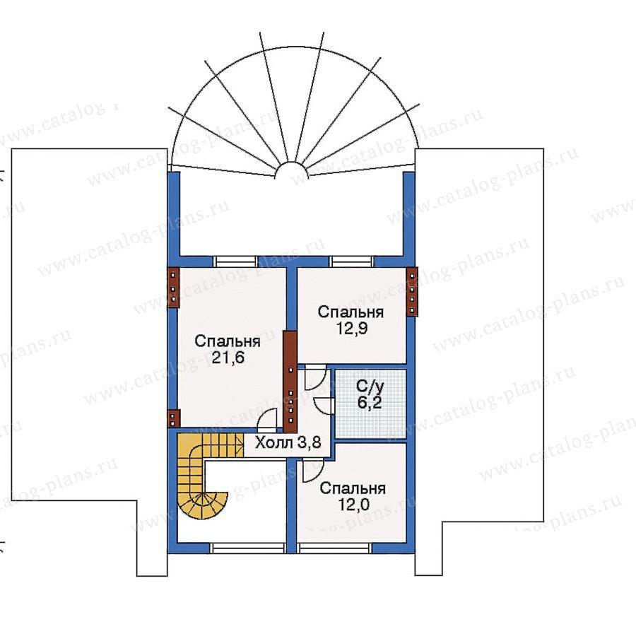 План 3-этажа проекта 51-44
