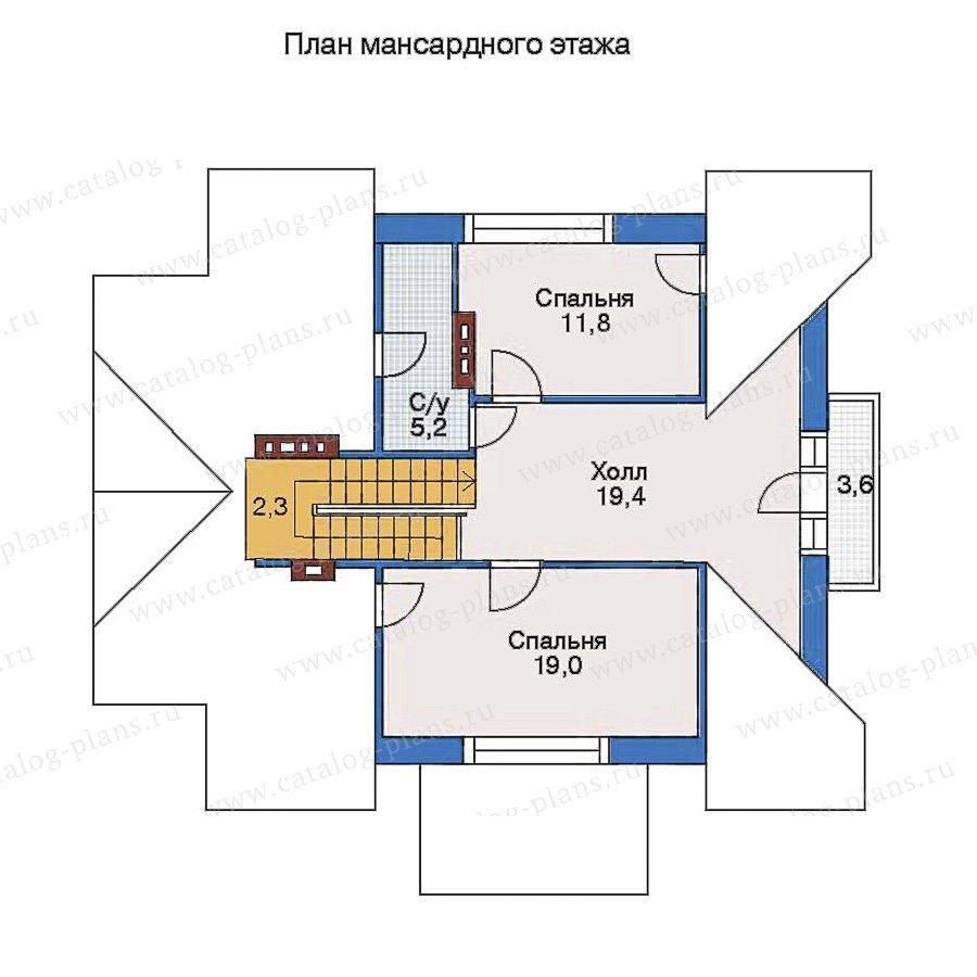 План 3-этажа проекта 51-96