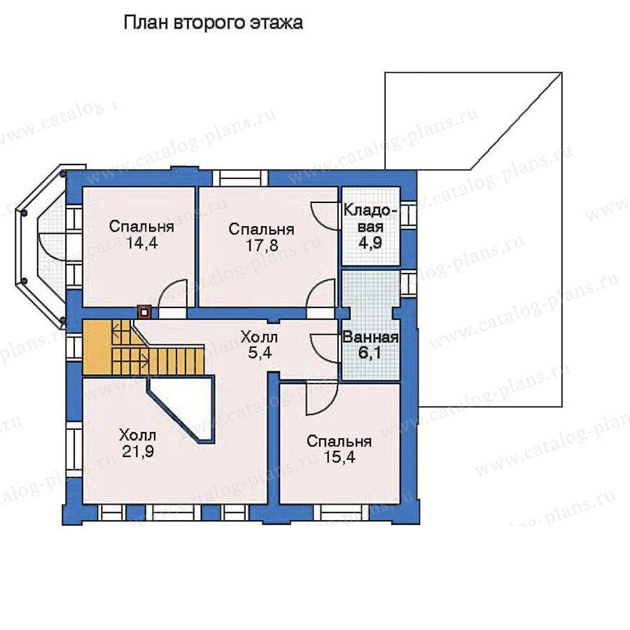 План 3-этажа проекта 52-19