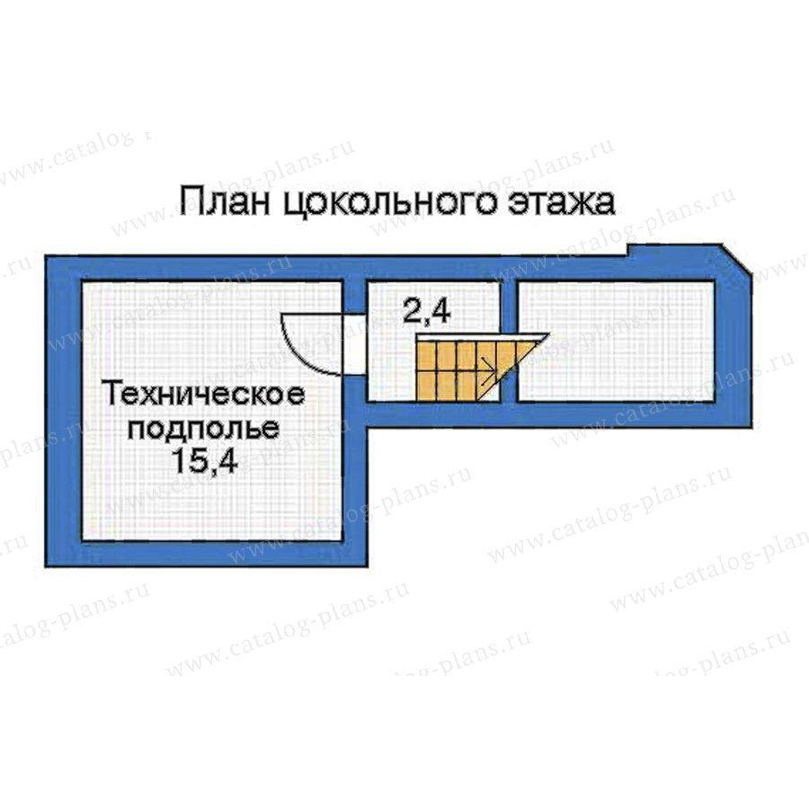 План 1-этажа проекта 52-24