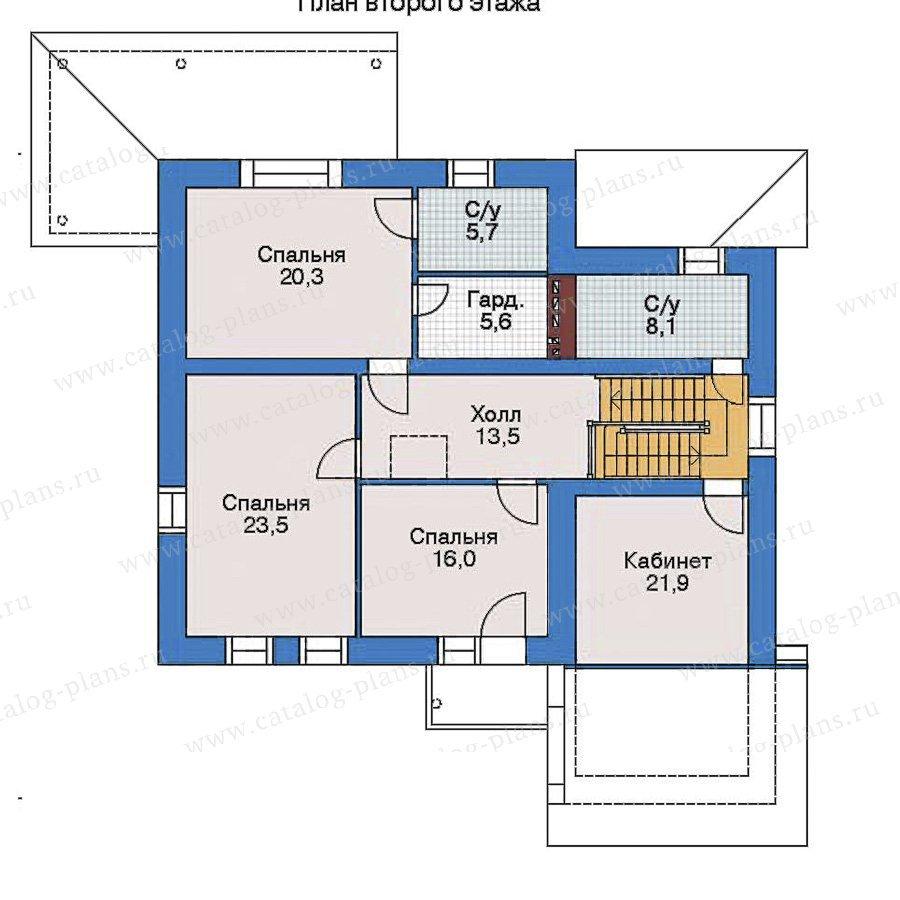 План 3-этажа проекта 52-18