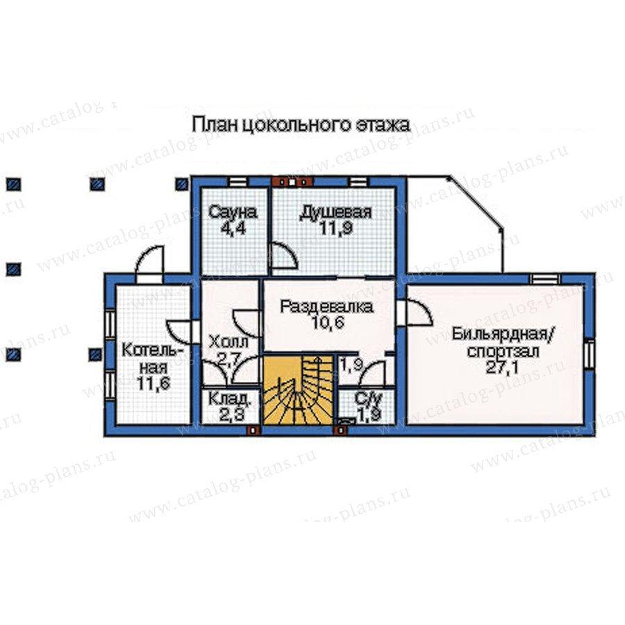 План 1-этажа проекта 52-29