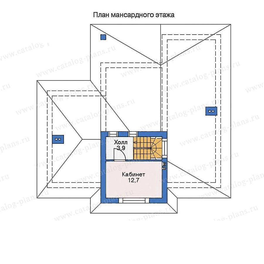 План 2-этажа проекта 52-66