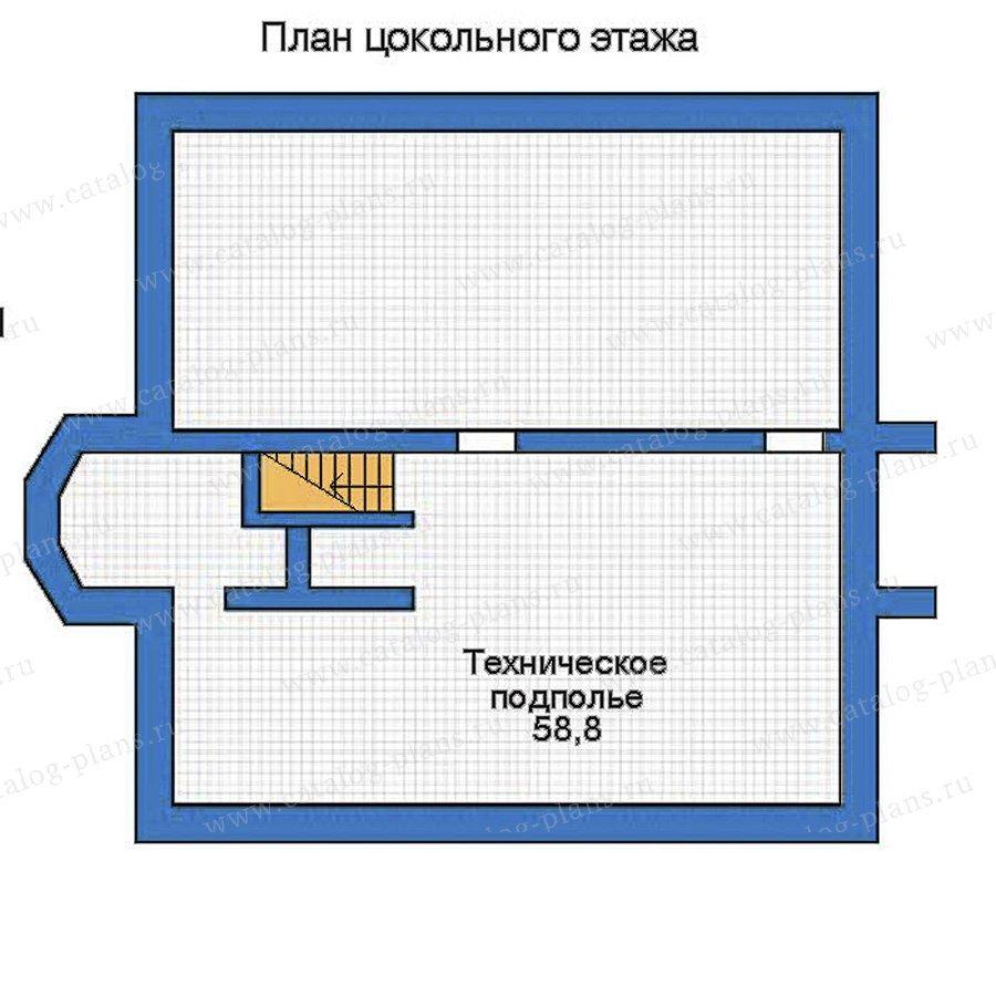 План 1-этажа проекта 52-22
