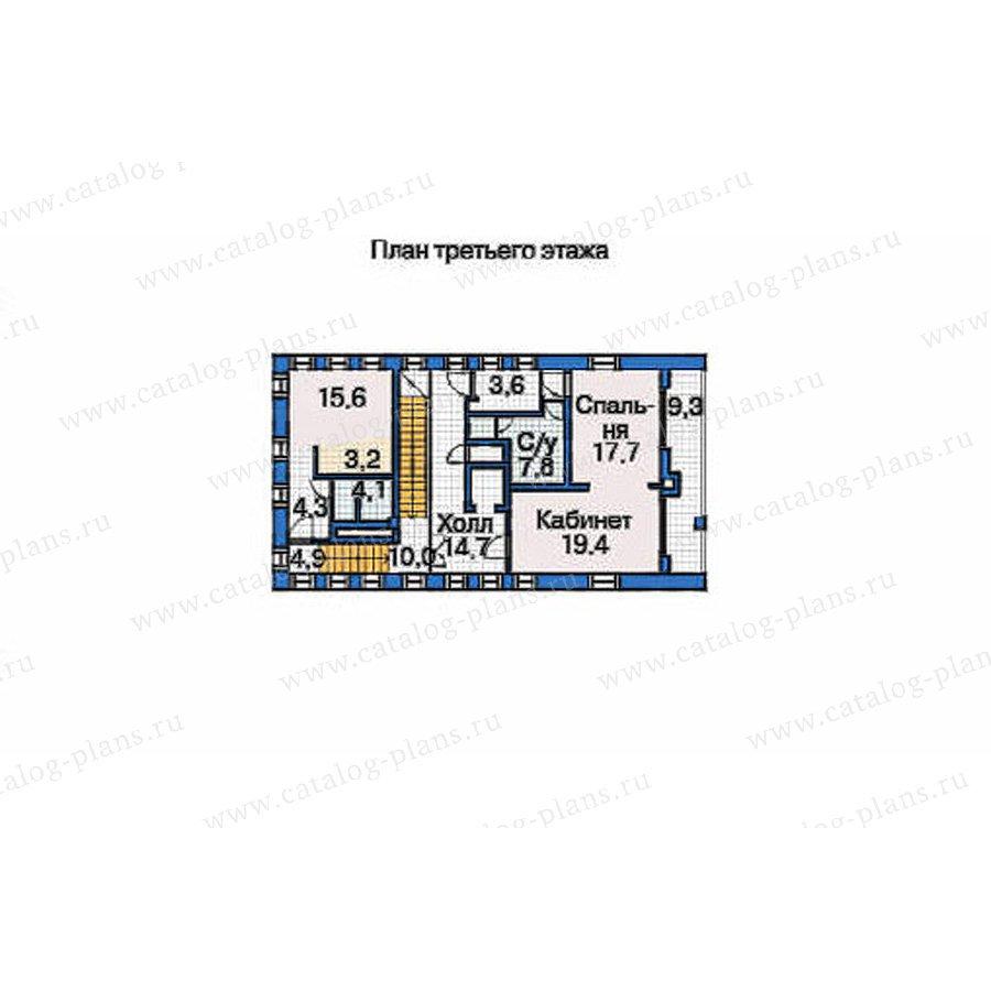 План 4-этажа проекта 53-72