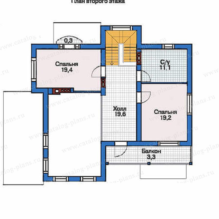 План 3-этажа проекта 53-60