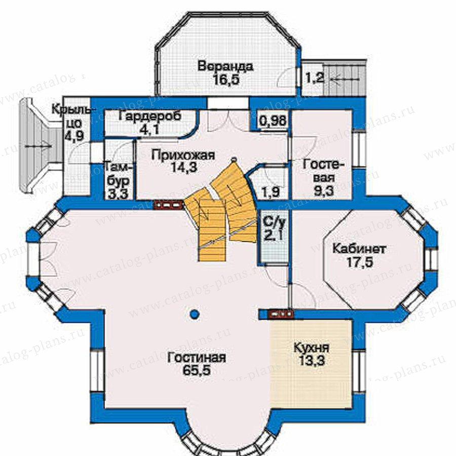 План 2-этажа проекта 53-28
