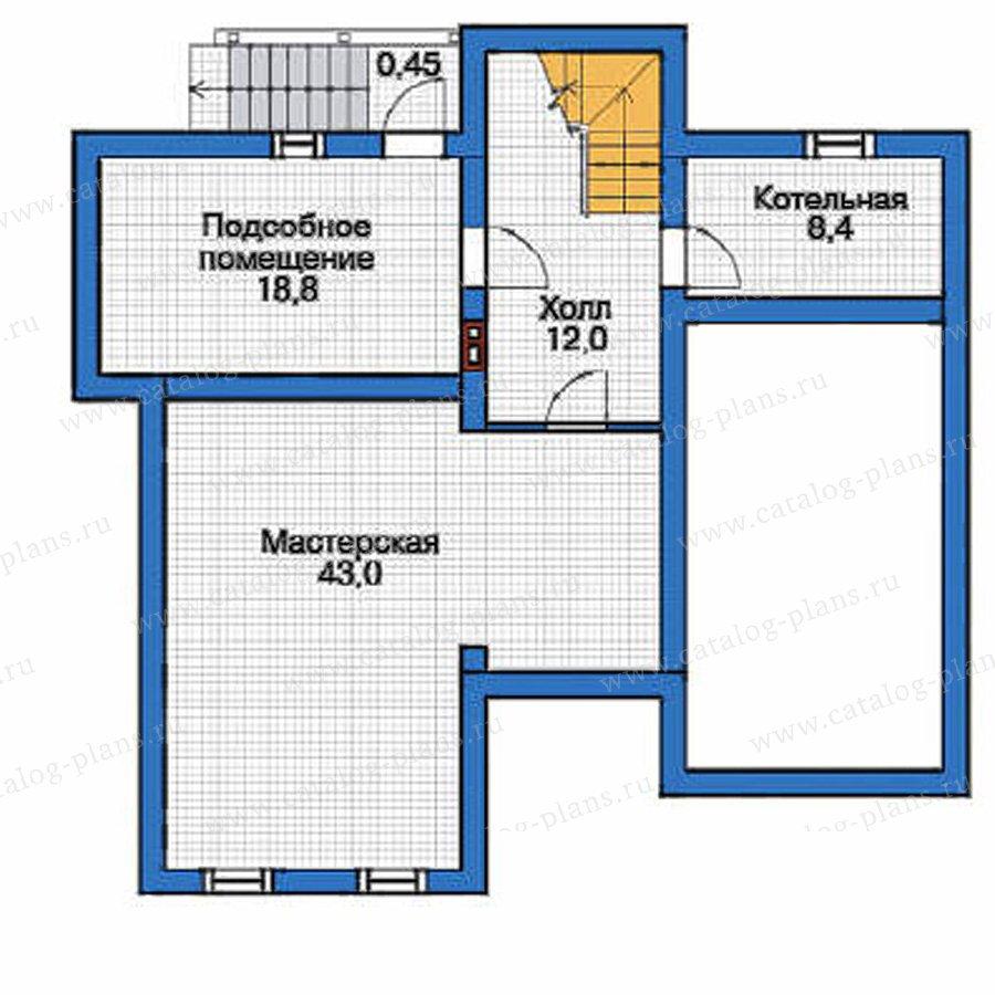 План 1-этажа проекта 53-60