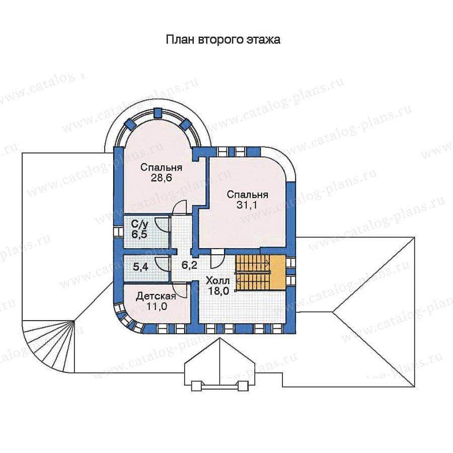 План 3-этажа проекта 52-99