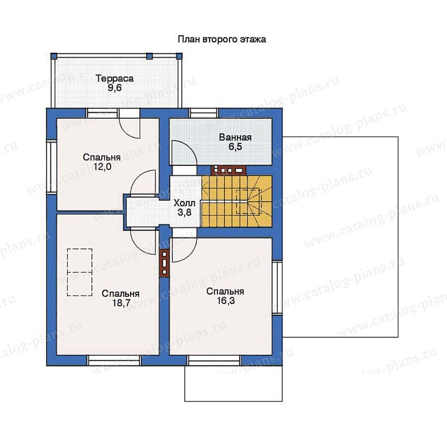 План 2-этажа проекта 53-97