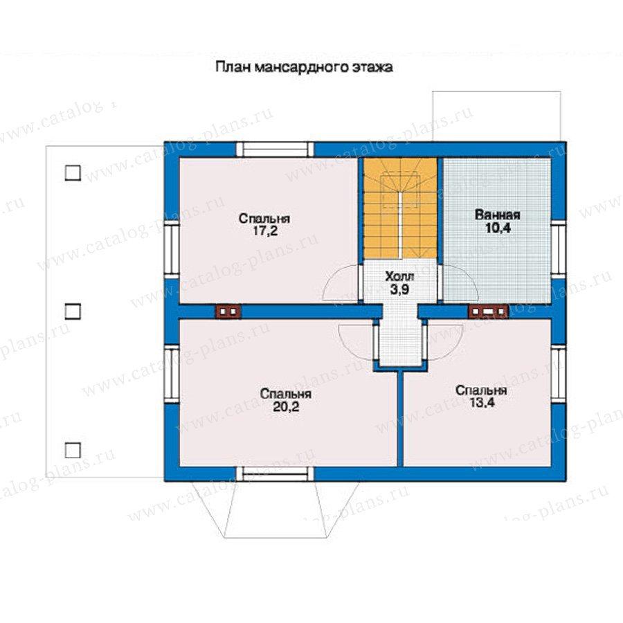 План 2-этажа проекта 54-60