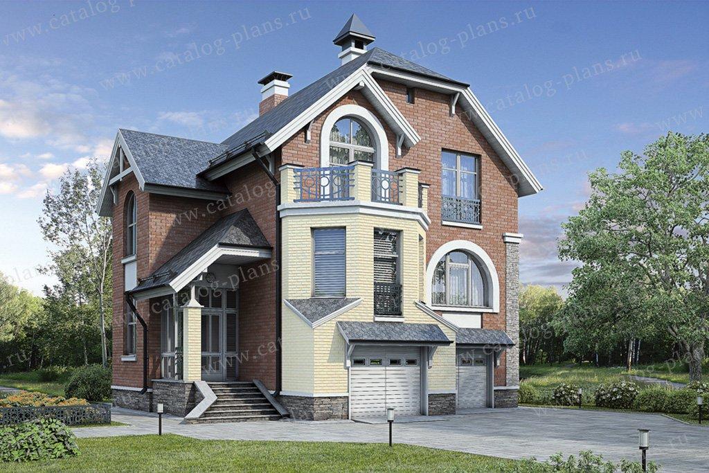Проект жилой дом #54-64 материал - газобетон, стиль модерн