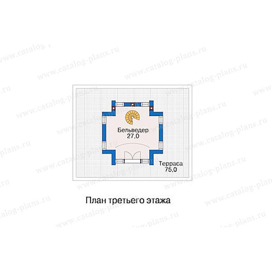 План 3-этажа проекта 55-89