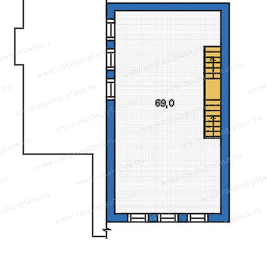 План 2-этажа проекта 55-06