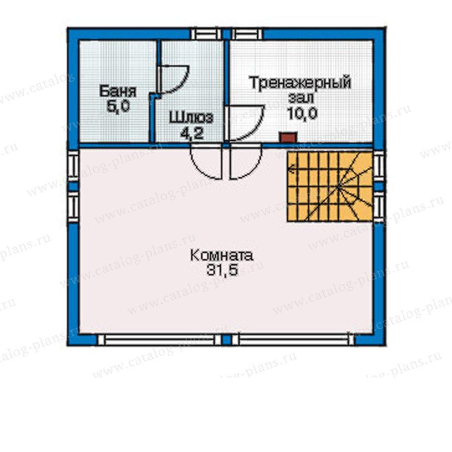 План 3-этажа проекта 54-81