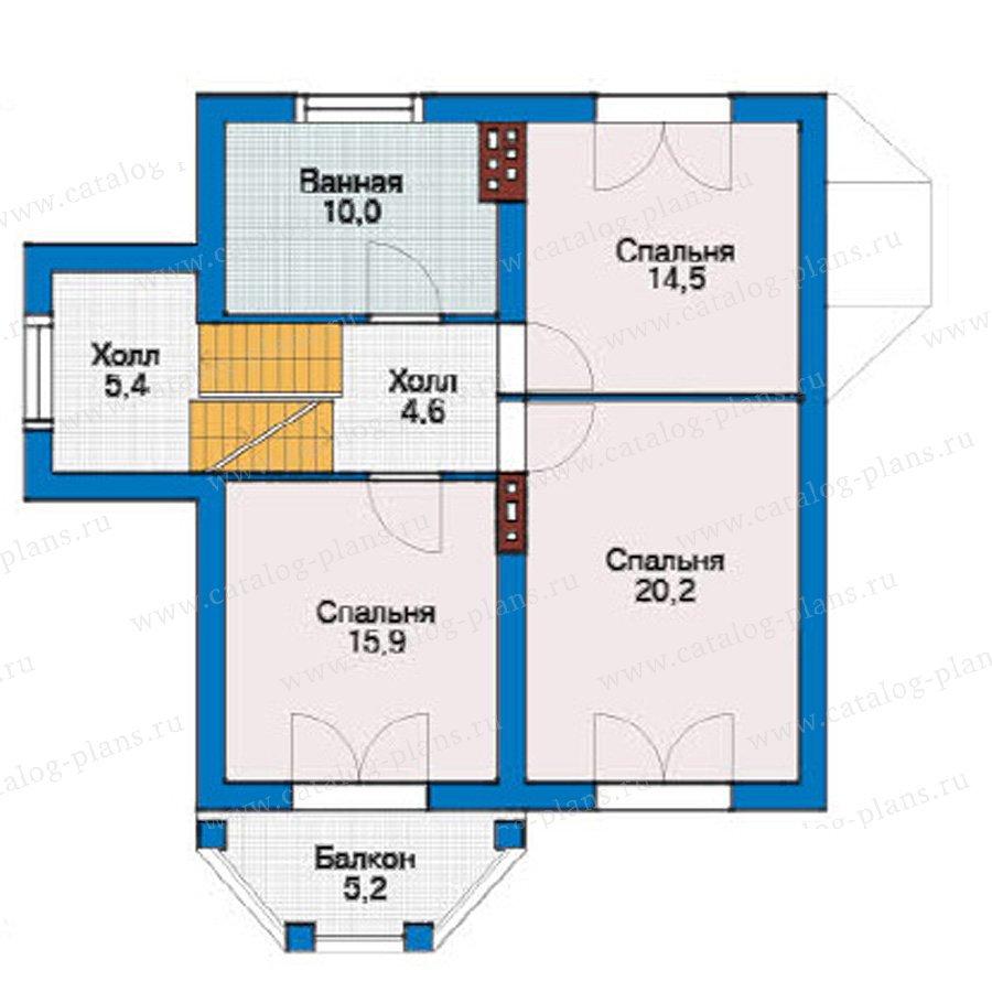 План 3-этажа проекта 54-64