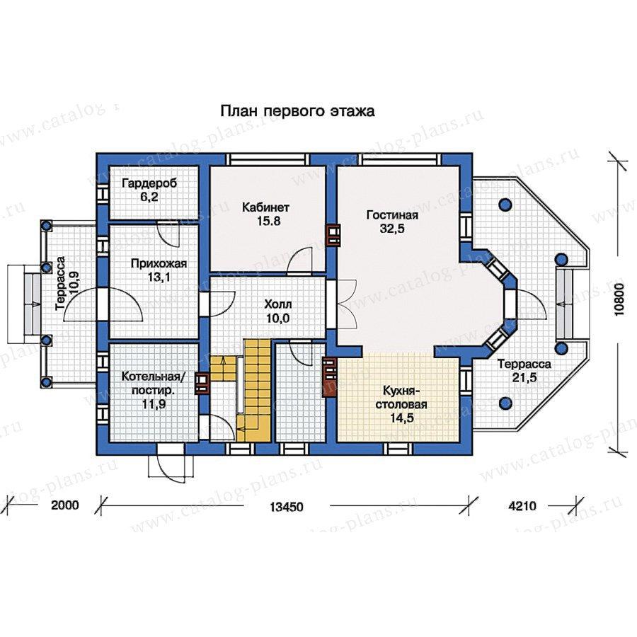 План 1-этажа проекта 57-15K