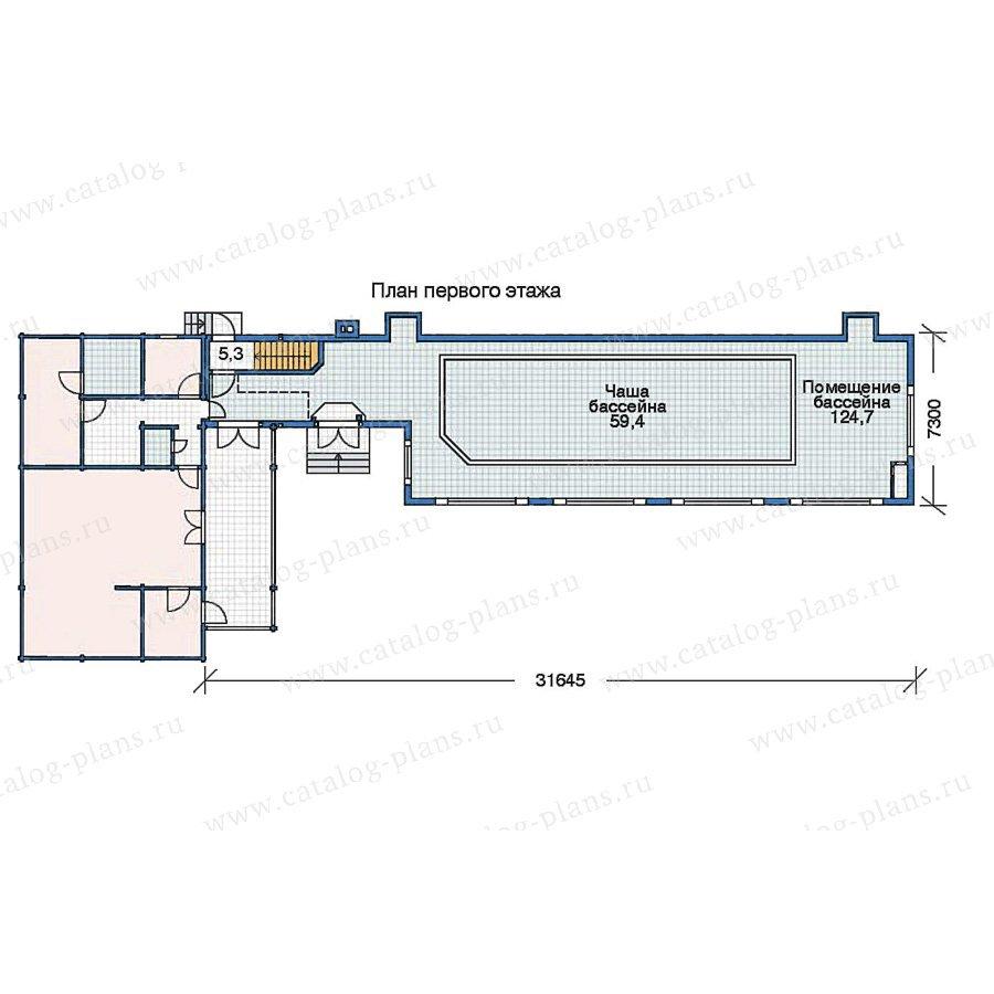 План 2-этажа проекта 70-17