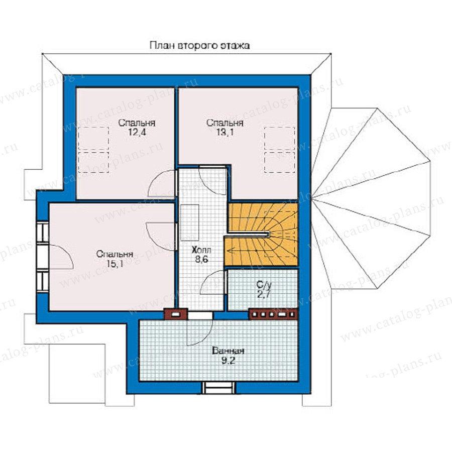 План 2-этажа проекта 59-05